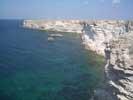 мыс Тарханкут в Крыму - степь, обрывающаяся в море