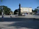 Улицы Евпатории - кинотеатр Ракета на Театральной площади