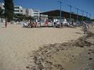 Пляжи Евпатории - пляж санатория Прибой